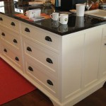 custom kitchen cabinets with white finish